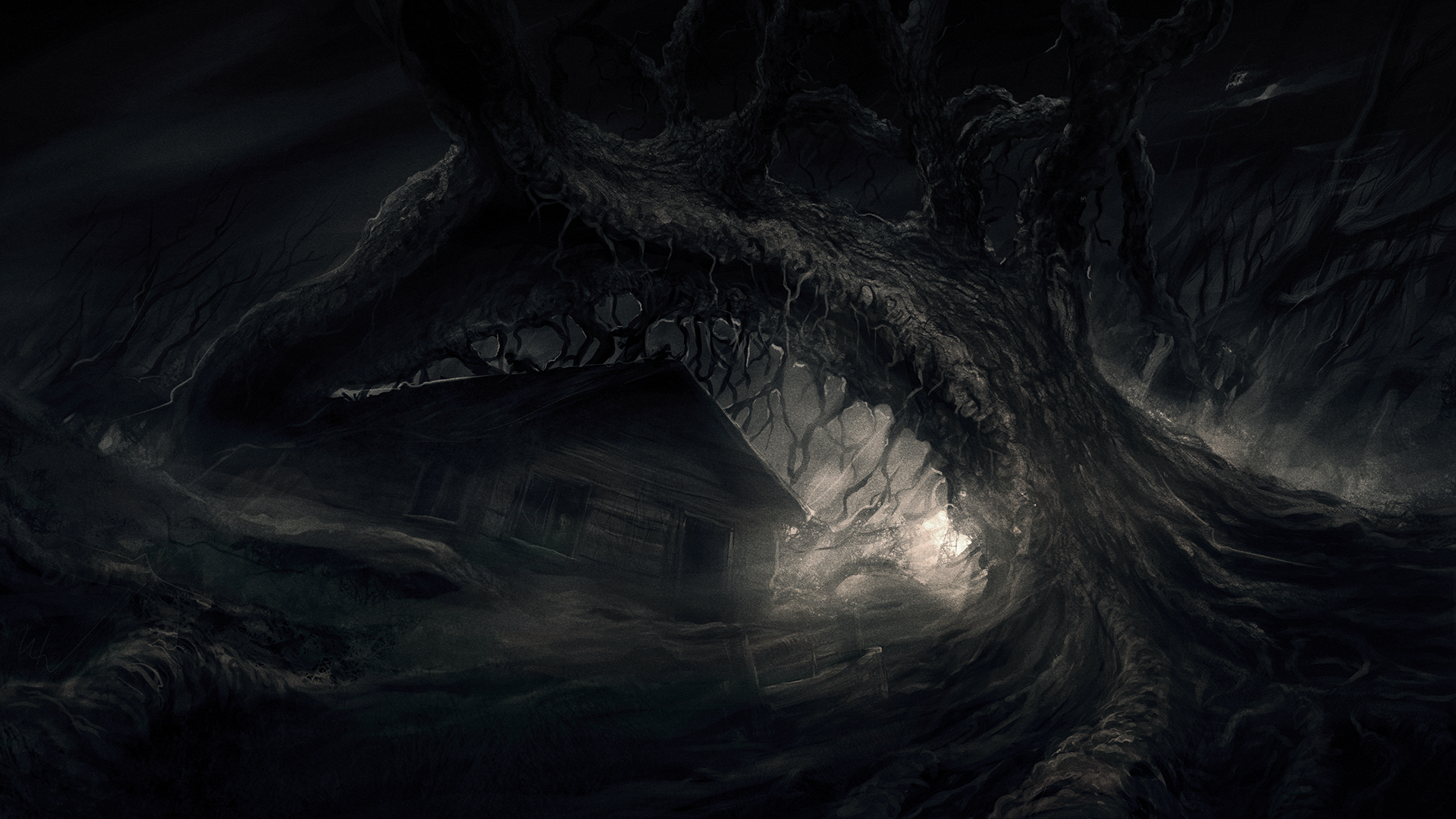 Dark woods picture hd dark woods picture dark woods pictures hd - Concept Art